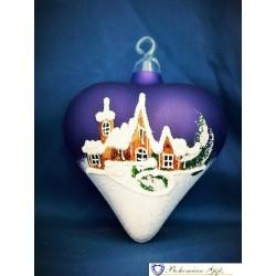 Srdce- fialové