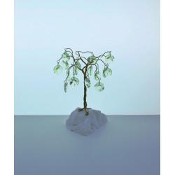 Strom s ověsy- žlutá