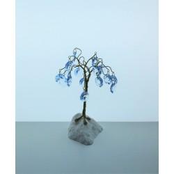 Strom s ověsy- modrá