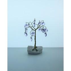 Strom s ověsy- fialová