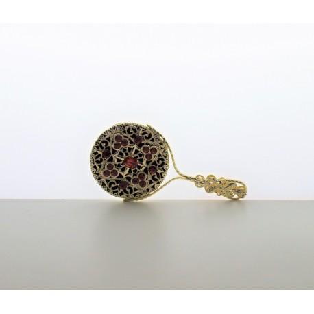 Pocket mirror- rosalin, gold