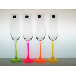 Flétny Neon 4 ks 190 ml