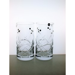 Long drink 2 pcs Fiona cut- Swarovski crystals