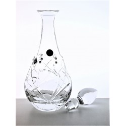 Decanter wine Fiona cut- Swarovski crystals