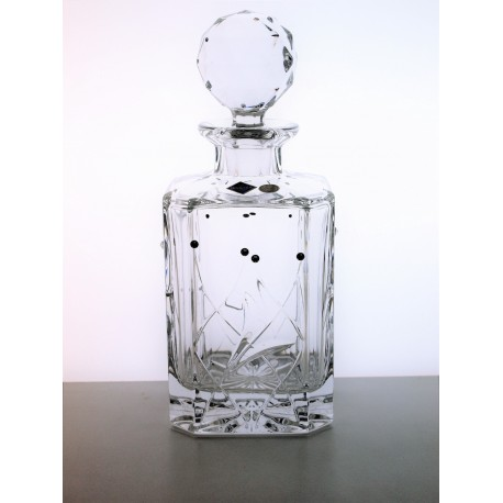 Whisky decanter Fiona cut- Swarovski crystals