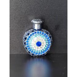 Flakon- modrá, stříbrná