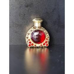 Flakon- červená, zlatá