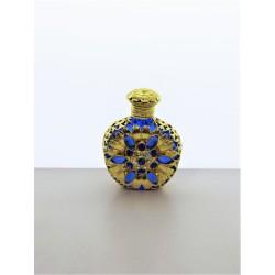 Flakon- modrá, zlatá