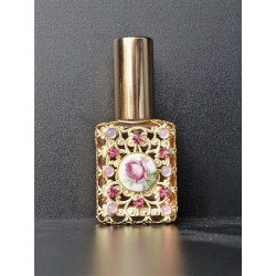 Perfume bottle sprey- pink, gold