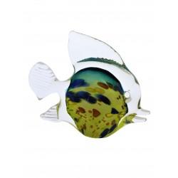 Skleněná figurka- hutní ryba malá
