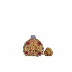 Perfume bottle- light purple, gold