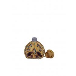 Flakon- sv. růžová, zlatá