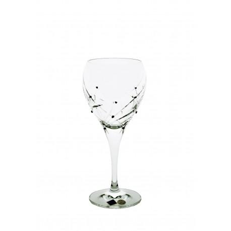 Set of 2 pcs glasses for WHITE WINE Garnet