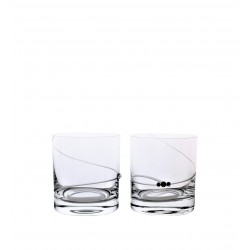 Whisky 2 pcs spiral- Swarovski crystals