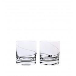 Whisky 2 ks spirála- Swarovski crystals