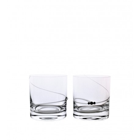 Whisky spirála- Swarovski crystals