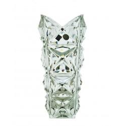 Vase with garnets