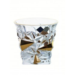 Whisky glasses Glacier- golden