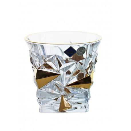 Whisky glasses Glacier- golden