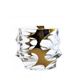 Whisky glasses Calypso- golden 2 pcs or 6 pcs