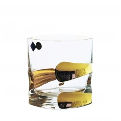 Whisky glasses Sail- golden