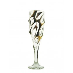 Glasses for champagne Calypso- golden 2 pcs or 6 pcs