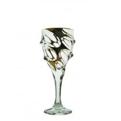 Sklenice na bílé víno Calypso- zlaté 2 ks nebo 6 ks