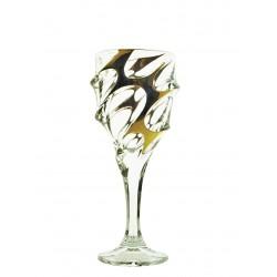 Sklenice na červené víno Calypso- zlaté 2 ks nebo 6 ks