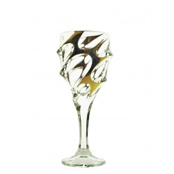 Wine glasses Calypso- golden 2 pcs or 6 pcs