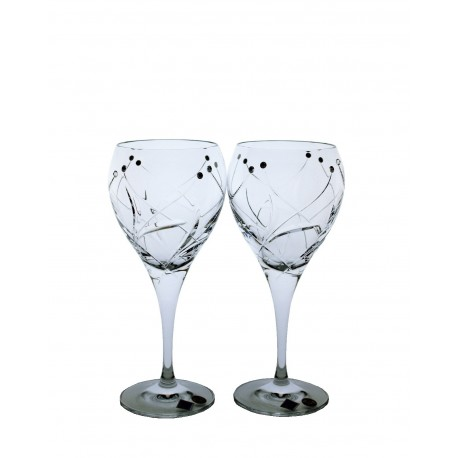 Víno bílé Fiona brus- Swarovski crystals