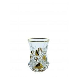 Tumbler glasses Glacier- golden