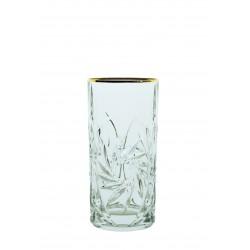 Skleničky Větrník Long drink- zlaté