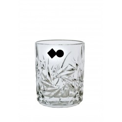 Whisky glasses pinwheel 6 pcs