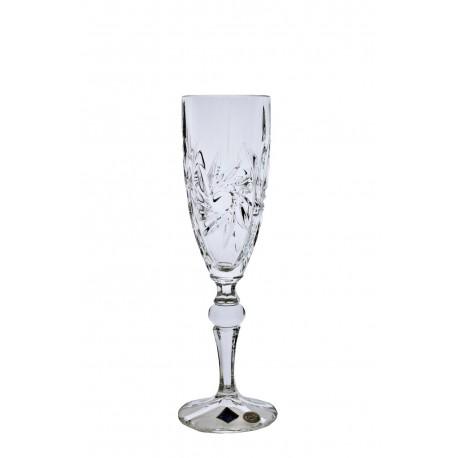 Glasses for champagne pinwheel 6 pcs