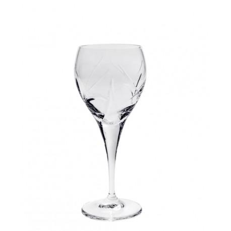 Sklenice na bílé víno Fiona listy 6 ks