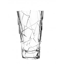 Skleněná dekorační váza Crack