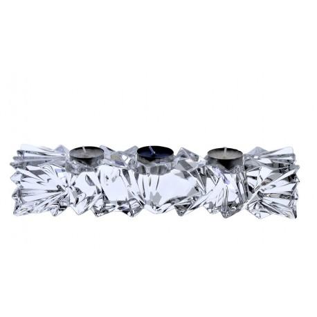 Svícen válec Glacier- 3 svíčky
