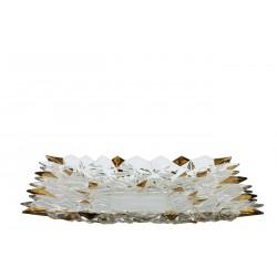 Glacier plate golden