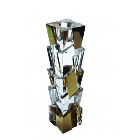 Glass candlestick Crack