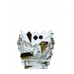 Candlestick Glacier votive- golden