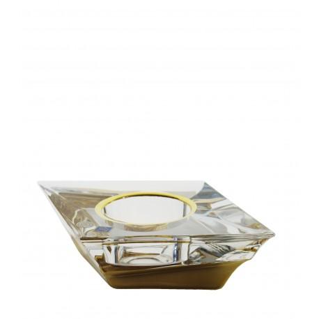 Candlestick Sail votive- golden