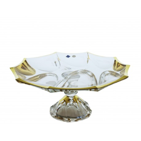 Footed plate Calypso
