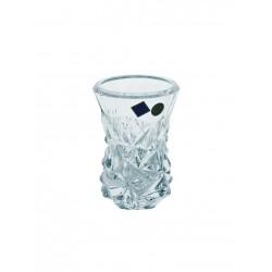 Skleněná dekorační váza Glacier- malá