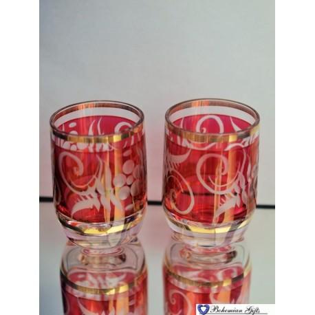 Lustre glasses Irena 2 pcs