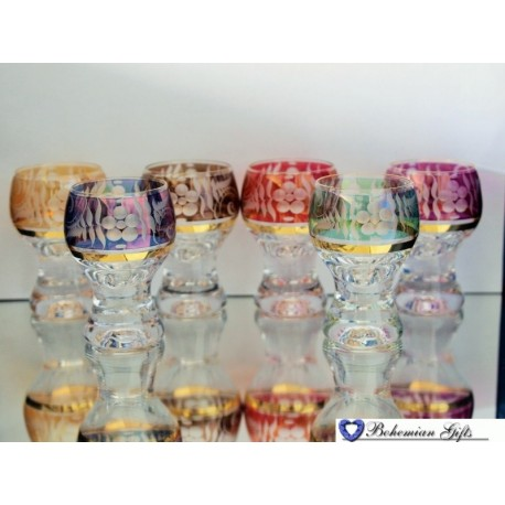 Lustre glasses Gina 6 pcs