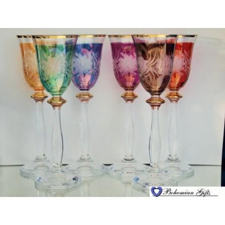 Lustre glasses Angela 6 pcs