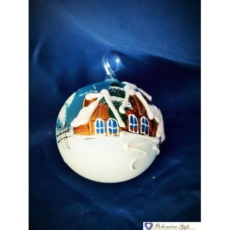 Koule 6 cm- bledě modrá