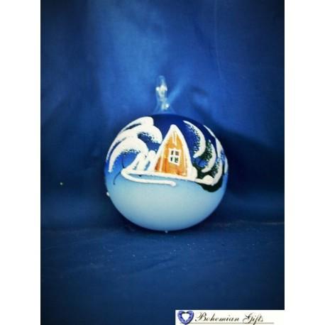 Koule 6 cm- modrá