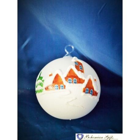 Ball 8 cm- white