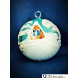 Koule 8 cm- bledě modrá